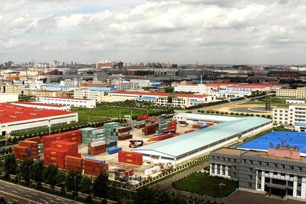 长春经济技术开发区工业区一瞥